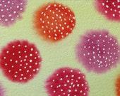 Pink and Orange Virus - Original watercolor painting