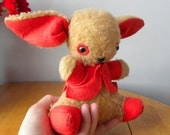 Vintage Bunny - Homemade Vintage Rabbit - 1950's Bunny Toy - Old Rabbit Toy
