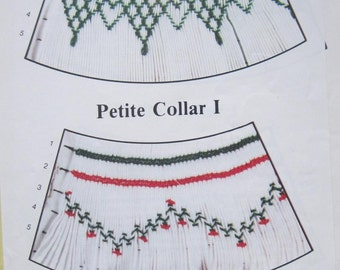 Smocking Plate - Petite Collar by The Children's Corner (book 3)