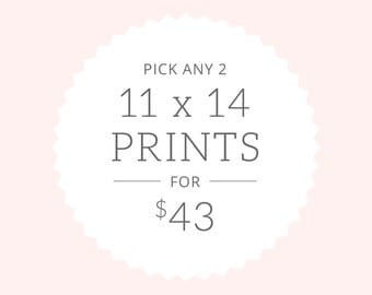 Art Prints | Pick Two 11x14 prints for 43.00 | SALE!