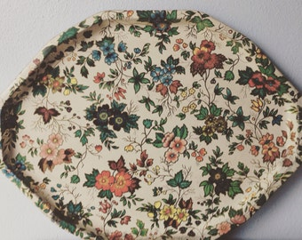 Vintage Daher Large Oval Serving Tray