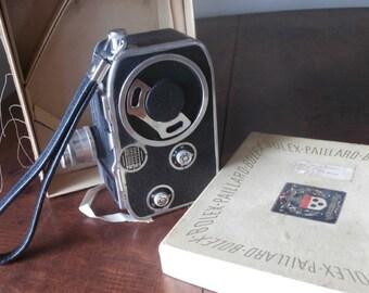 Vtg Bolex Paillard Lytar Movie Camera C 8 Switzerland