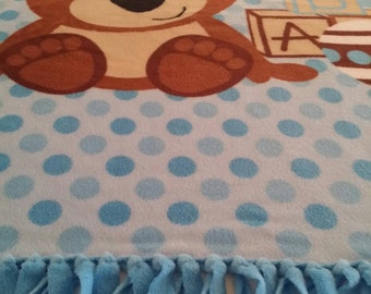 Beary Sweet Fleece Blanket