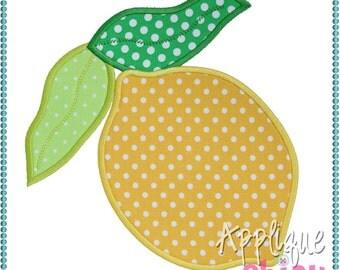 Lemon Applique Design