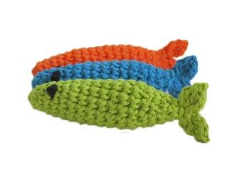 Catnip Sardine Cat Toys - Set of 3