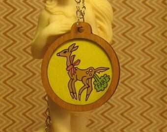 Deer Fart Necklace