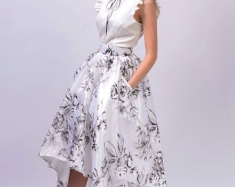 Carolina Skirt Taffeta/Organza