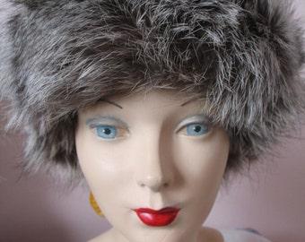 1950's Fur Headband Hat, Gorgeous, Genuine