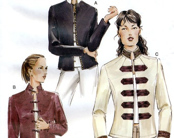 Vogue 7752 Misses' Jacket Sewing Pattern - Uncut - Size 18, 20, 22 - Bust 40, 42, 44