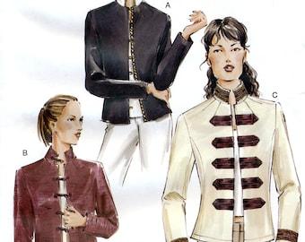 Vogue 7752 Misses' Jacket Sewing Pattern - Uncut - Size 18, 20, 22 - Bust 40, 42, 44