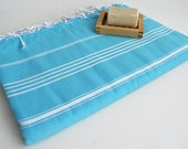 Shipping with FedEx - Classic - Beach blanket, Picnic blanket, Sofa throw, Tablecloth, Bedcover - Bathstyle - Blue