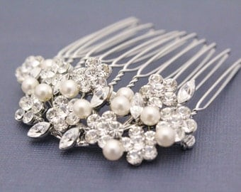 Small bridal hair comb 1920's wedding hair accessories bridal hair jewelry wedding headpiece bridal jewelry wedding accessories bridal comb