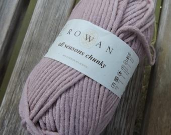 BULKY Weight Yarn - Rowan All Seasons Chunky - Cotton Blend -  Shore #604 - 100g - 93 yards