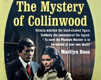 The Mystery of Collinwood Dark Shadows Barnabas Collins soap opera Retro 60s TV Classic Vampire memorabilia gothic books yellow black gold