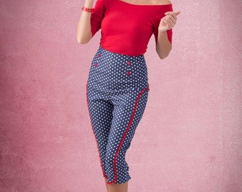 Polka dot pants By TiCCi Rockabilly Clothing 2015