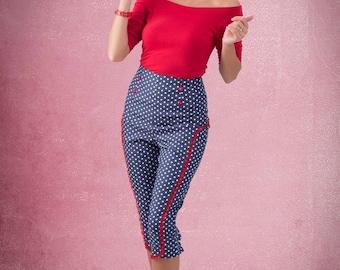 Polka dot pants By TiCCi Rockabilly Clothing 2015
