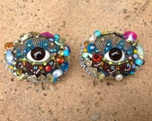 Wall Eye Pair (Hanging) by Betsy Youngquist