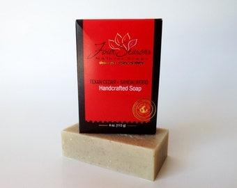 SALE Cedarwood and Sandalwood Soap - Men Soap, Organic Soap, Sandalwood Soap, Natural Soap, Handmade Soap, Gift for Men