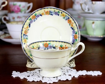 Royal Albert Teacup, Tea Cup and Saucer, English Bone China, Vintage Cups 12261