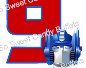 TRANSFORMER | Custom Iron-on Birthday Shirt Design Personalized For YOU
