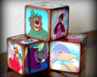 Disney Robin Hood Children's Blocks