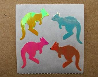Sandylion MOP Mother of Pearl Kangaroo Stickers
