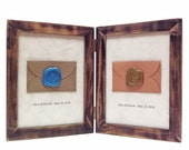 Wedding Vows gift for couple, Gift from parents, Romantic 1st year anniversary gift