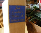 Jack London Tales of Adventure First edition 1956 Vintage book, His novels, short stories, Bio of London with photos