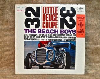 The Beach Boys -  Little Deuce Coupe - 1963 Vintage Vinyl  Record Album
