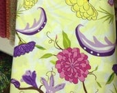 studio e Zaza Zing large floral yellow by the yd 1yd piece QUILT FABRIC SALE