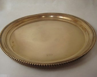 Solid Brass Tray - S. Sternau & Co. New York