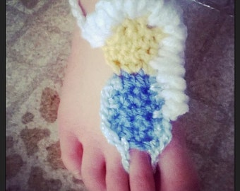 Princess Inspired Footless Sandals