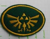 Triforce Symbol Felt Patch