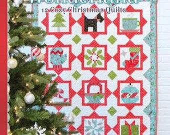 Winter Wonderland by Sherri Falls of This n' That Pattern Company for It's Sew Emma