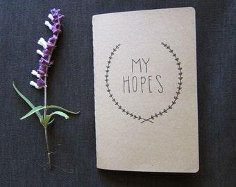 My Hopes Handmade Journal