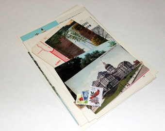 Indiana - United States Vintage Travel Collage Kit