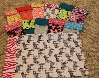 Flannel Pillowcase kits with directions