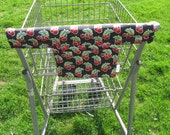 Shopping Cart Cover Handy Cart Cover with Pocket - Cherry Print Shopping Cart Cover - Handy Cart Cover