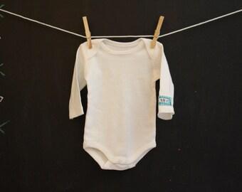 0-3 Month VBAC Baby Bodysuit- Sleeve Logo