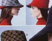 Vogue Millinery Hats Fedora Bucket HAT Patricia nderwood Vogue Pattern 8844 2012 Millinery Hat Pattern Vogue Fedora Bucket Hat Pattern