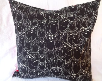 Owls Pillow Cover