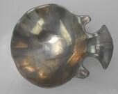 vintage Wilton Pewter Sauce Bowl sauce Dish designed by Bruce Fox pewter fish sauce bowl figural fish bowl