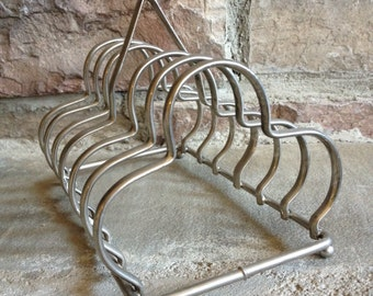 Vintage Toast Rack Stand Metal Letter Holder - #5036