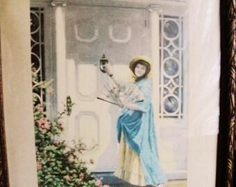 "Antique Johan Dillenias Print called ""The Return"""