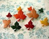 Fall Leaves Season Thumbtack, Fall Leaves Color Push Pin, Fall Color Notice Board Pins, Fall Leaves Decoration
