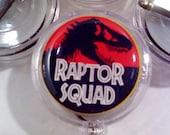 Jurassic Park inspired ID Badge Reel Clip