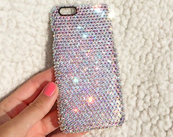 Crystal iPhone 6 Bling Case with Swarovski Crystals AB