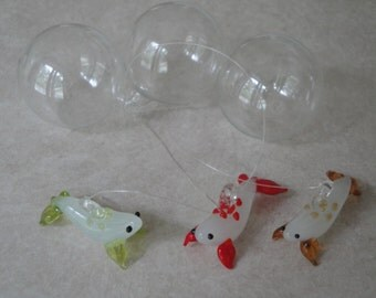 Floating Glass Seal Three Pack