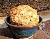 Bread baking bowl.  Beer bread bowl.
