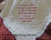 Personalized Mother's Day Gift, Gift for Mom From Daughter Gift, Cotton Throw